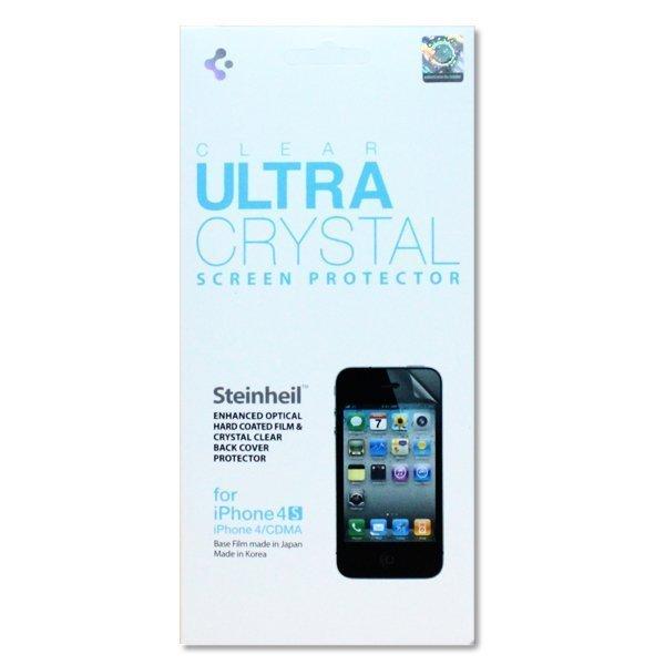 Набор защитных пленок для Apple iPhone 4S/4 - SGP Steinheil глянцевый