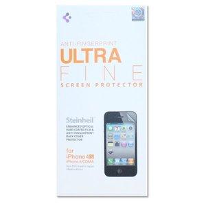Набор защитных пленок для Apple iPhone 4S/4 - SGP Steinheil матовый