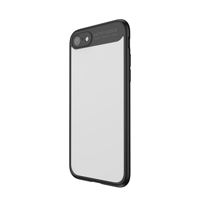 Чехол с зеркалом Baseus Mirror чёрный для iPhone 8/7