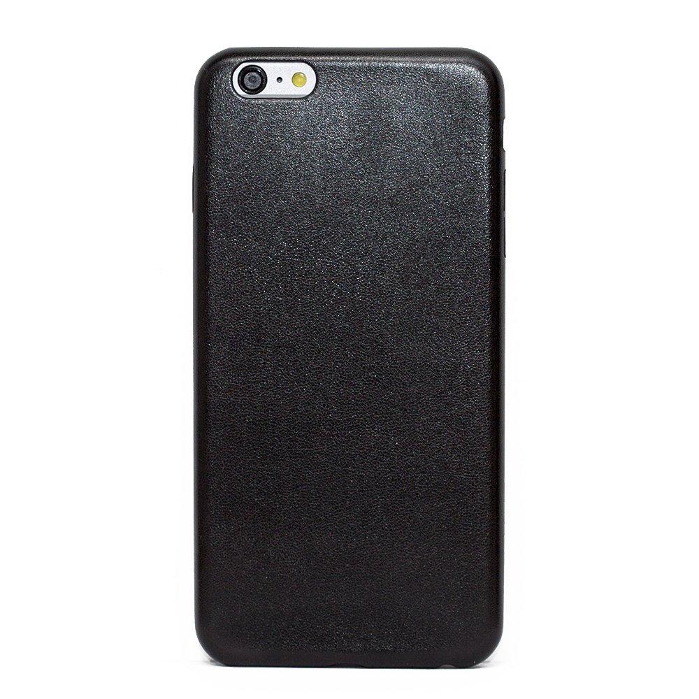 Силиконовый чехол Fashion Case черный для iPhone 6 Plus/6S Plus