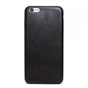 Силиконовый чехол Fashion Case черный для iPhone 6/6S Plus
