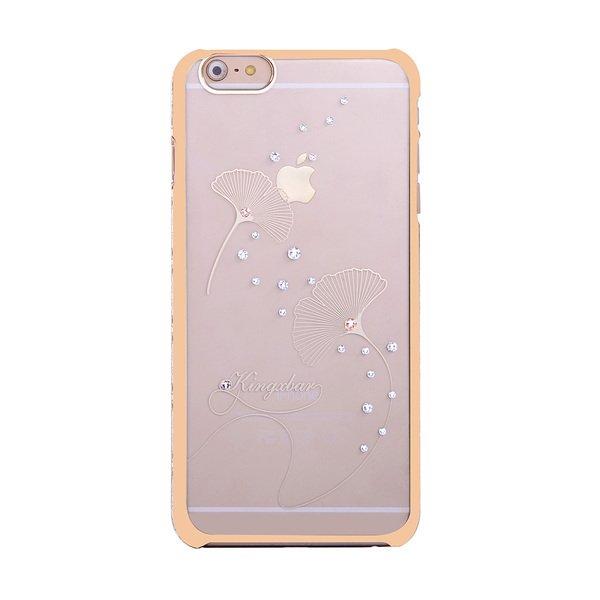 Чехол-накладка для Apple iPhone 6/6S - Kingxbar Classic Ginkgo Leaf