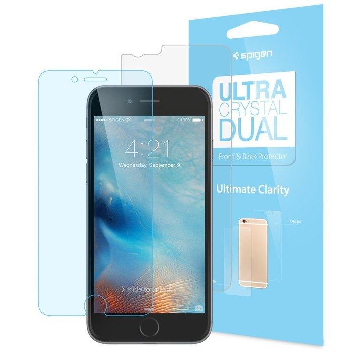 Набор защитных пленок для Apple iPhone 6 - SGP Steinheil Dual Ultra Crystal глянцевый