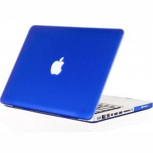 "Чехол-накладка для Apple MacBook Pro 15"" - Kuzy Rubberized Hard Case синий"