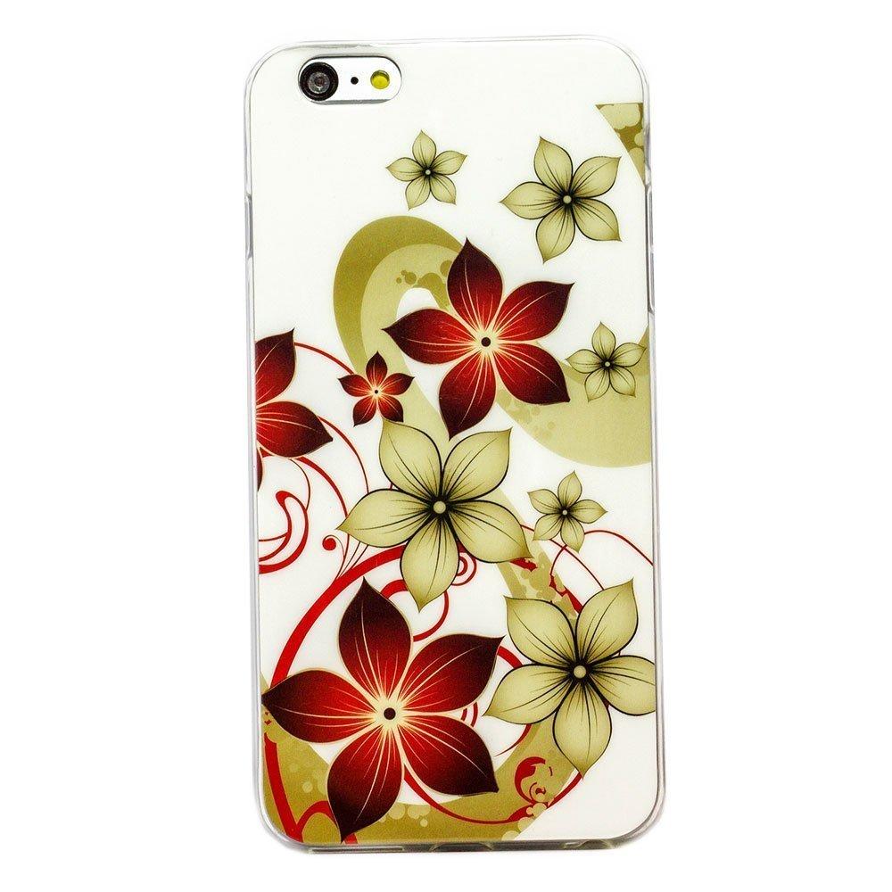 Чехол-накладка для Apple iPhone 6 Plus - цветы
