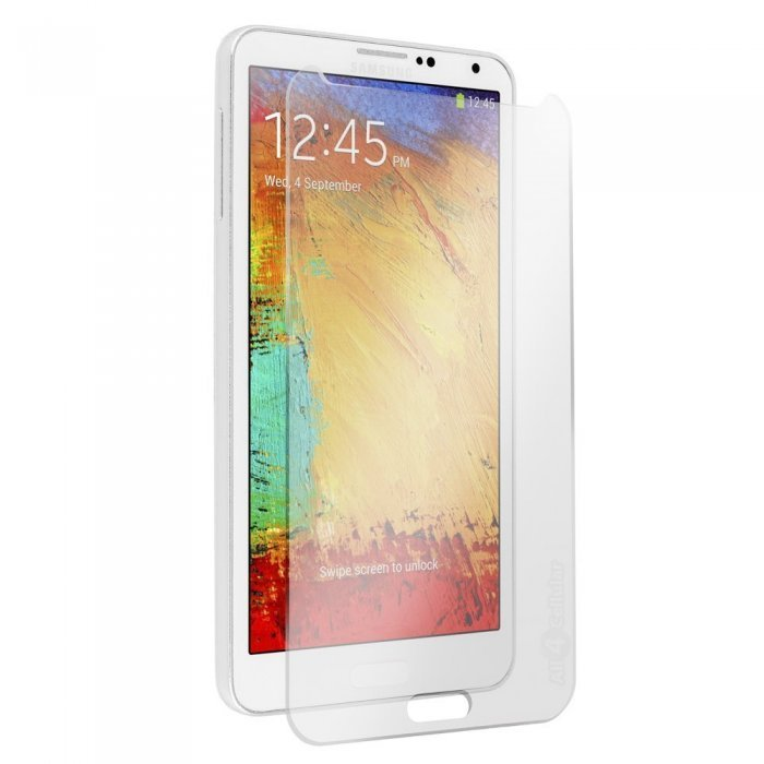 Защитное стекло для Samsung Galaxy Note 3 - 0,3мм, глянцевое