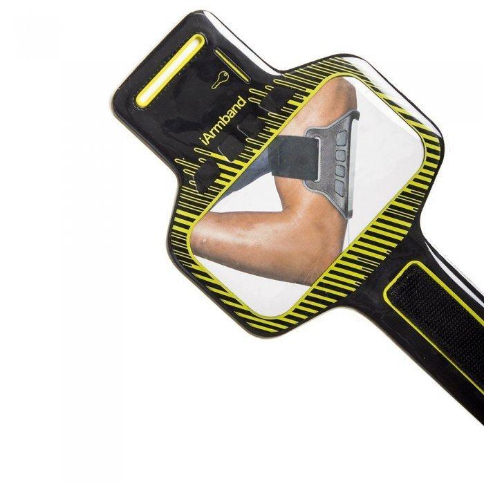 Чехол спорт и экстрим универсальный - iArmband Sport Armband черный + желтый