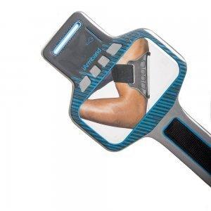 Чехол спорт и экстрим универсальный - iArmband Sport Armband черный + голубой