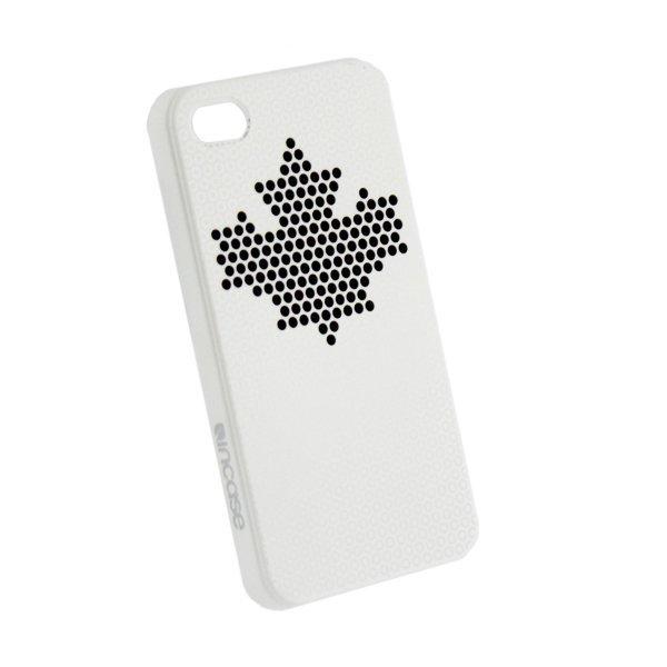 Чехол с рисунком Incase Frame белый для iPhone 4/4S