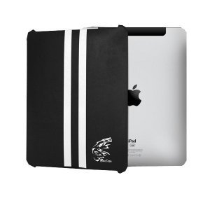 Чехол-накладка для Apple iPad - Maclove iShow Leather Hood Series черный
