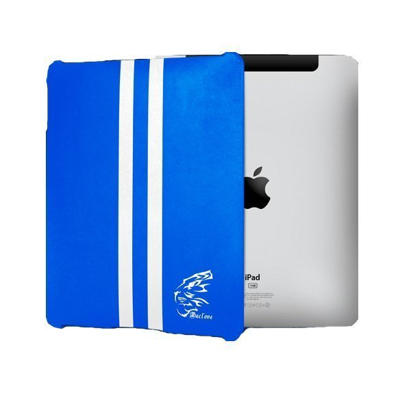 Чехол-накладка для Apple iPad - Maclove iShow Leather Hood Series синий