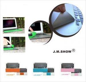 """Защитный скин для трекпада для Apple MacBook Air 11"""" - J.M.Show PalmGuard розовый"""