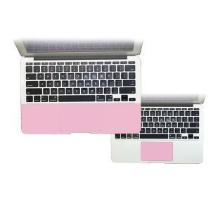 "Защитный скин для Apple MacBook Pro 13"" - J.M.Show PalmGuard Palmrest&Trackpad розовый"