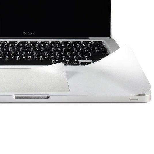 """Защитный скин для Apple MacBook Pro 13"""" - J.M.Show PalmGuard Palmrest&Trackpad серебристый"""