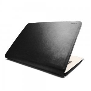 "Чехол-книжка для Apple MacBook Air 11"" - J.M.Show Thin Leather черный"