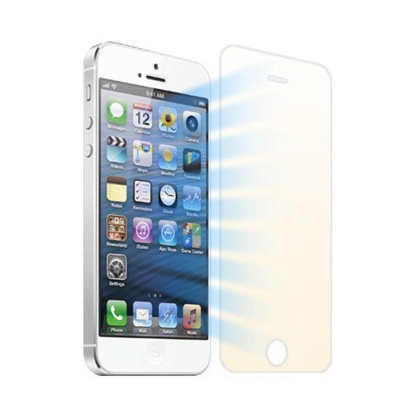 Защитное стекло для Apple iPhone 5/5S - Anti Blu-Ray глянцевое, цветное