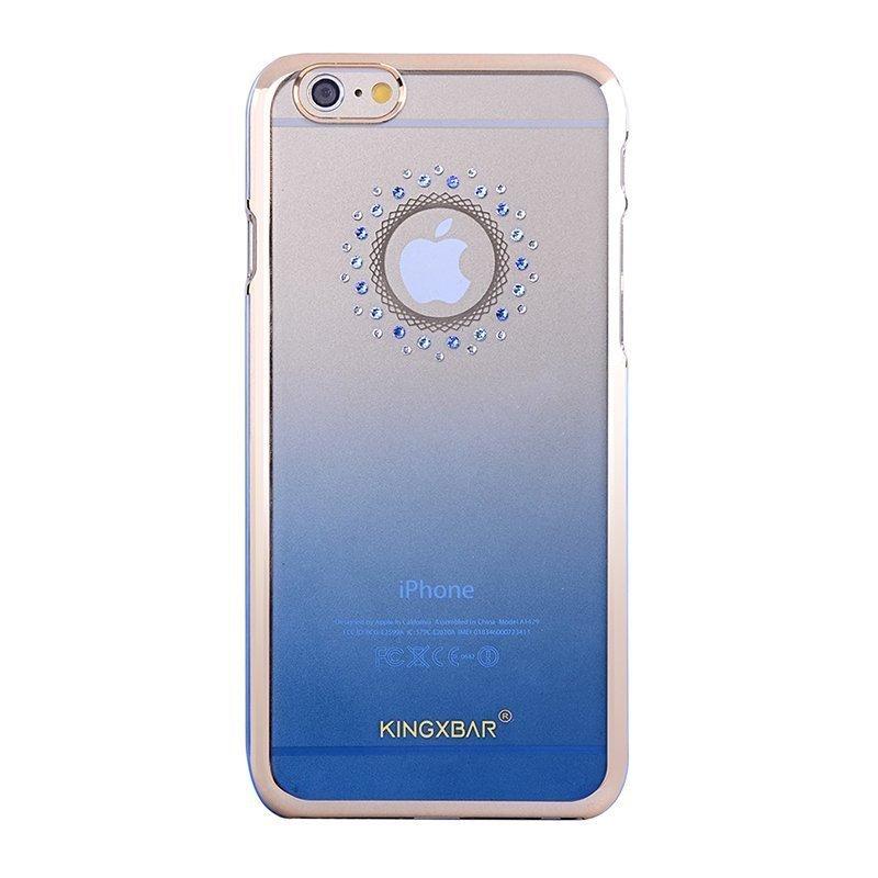 Чехол-накладка для Apple iPhone 6/6S - Kingxbar Cycle синий