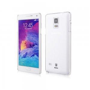 Чехол-накладка для Samsung Galaxy Note 4 - Baseus Sky Case прозрачный