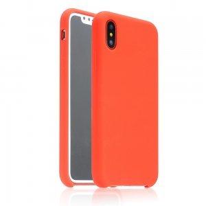 Силиконовый чехол Coteetci красный для iPhone X/XS