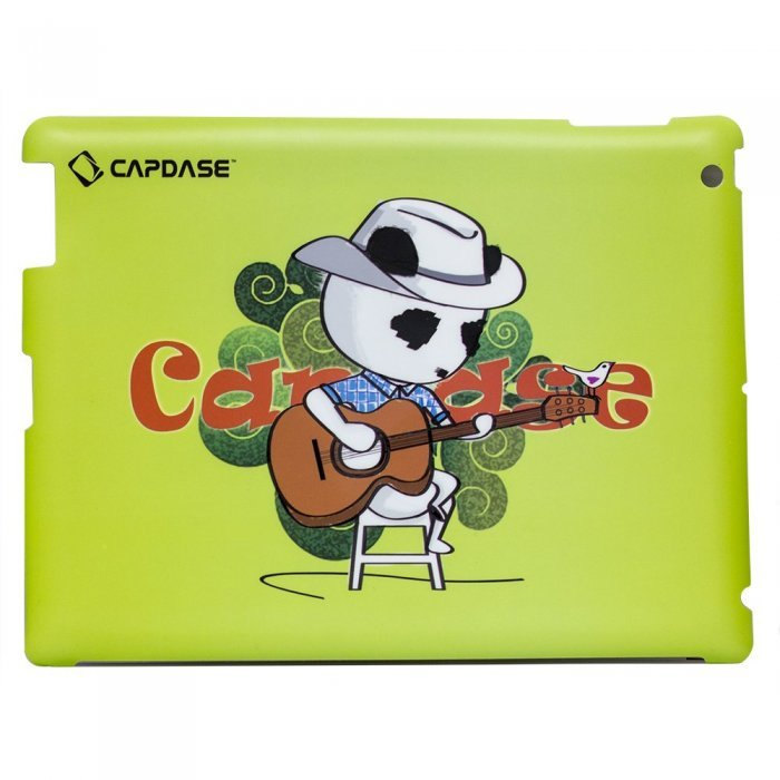 Наклейка для Apple iPad 2/3/4 - Capdase ProSkin Don Country зеленая