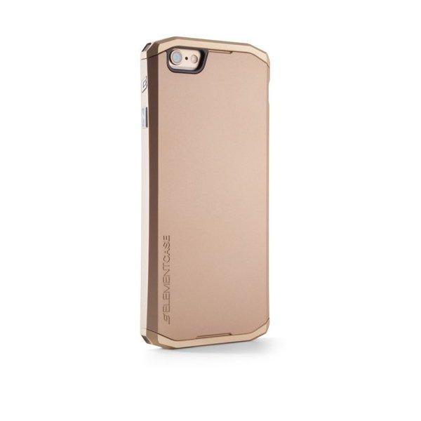 Чехол-накладка для Apple iPhone 6 - Element Case Solace золотистый