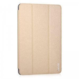 Чехол-книжка для Apple iPad mini 4 - Devia Light Grace золотистый