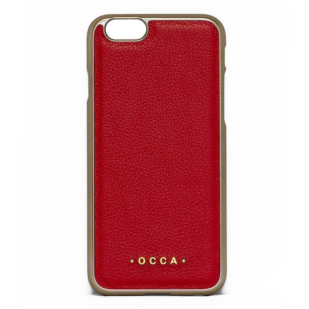 Чехол-накладка для Apple iPhone 6/6S - OCCA Absolute красный