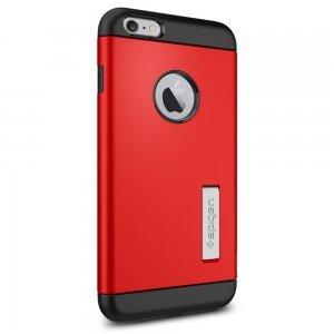 Чехол-накладка для iPhone 6 Plus/6S Plus - Spigen Case Slim Armor красный