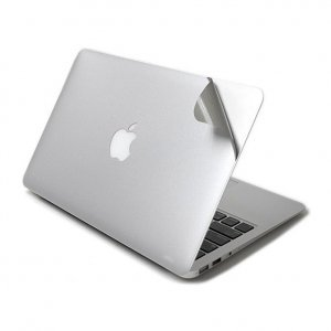 """Защитный скин для Apple MacBook Air 13"""" - J.M.Show МасGuard серебристый"""