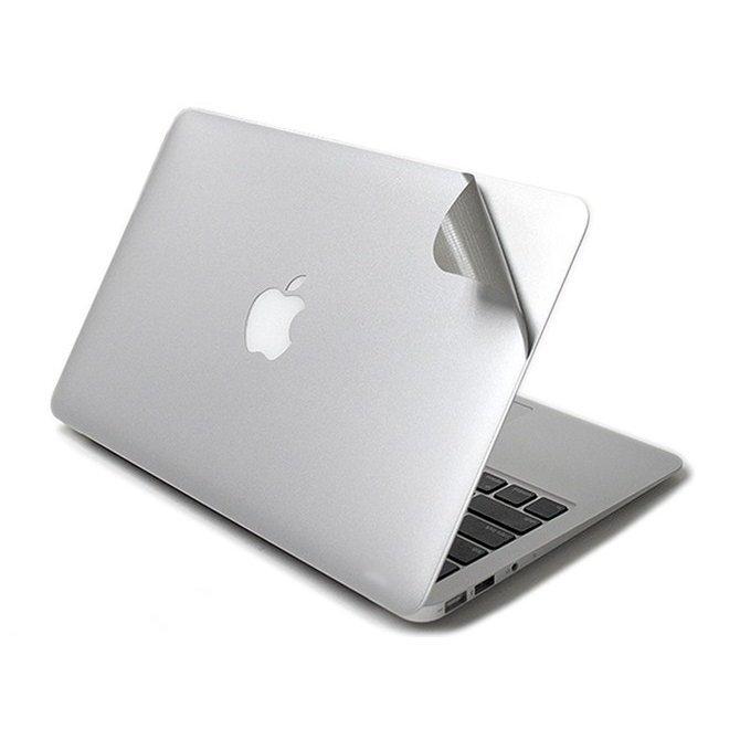 """Защитный скин для Apple MacBook Pro 13"""" - J.M.Show МасGuard серебристый"""