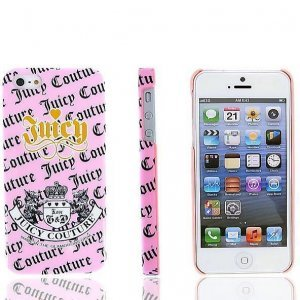 Чехол-накладка для Apple iPhone 5/5S - Juicy Couture COUTURE