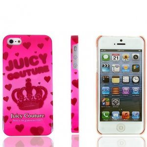 Чехол-накладка для Apple iPhone 5/5S - Juicy Couture CROWN