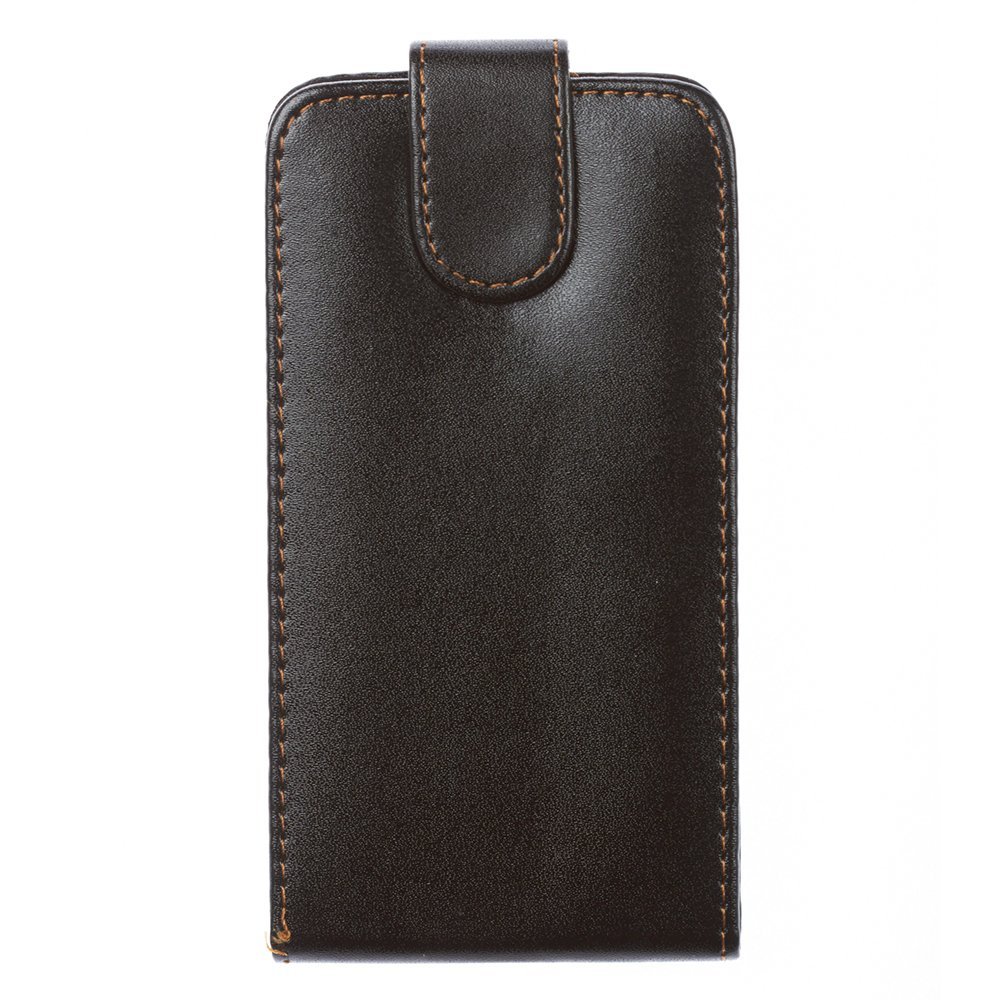 Чехол-флиппер для LG Optimus L9 - Leather Pouch черный