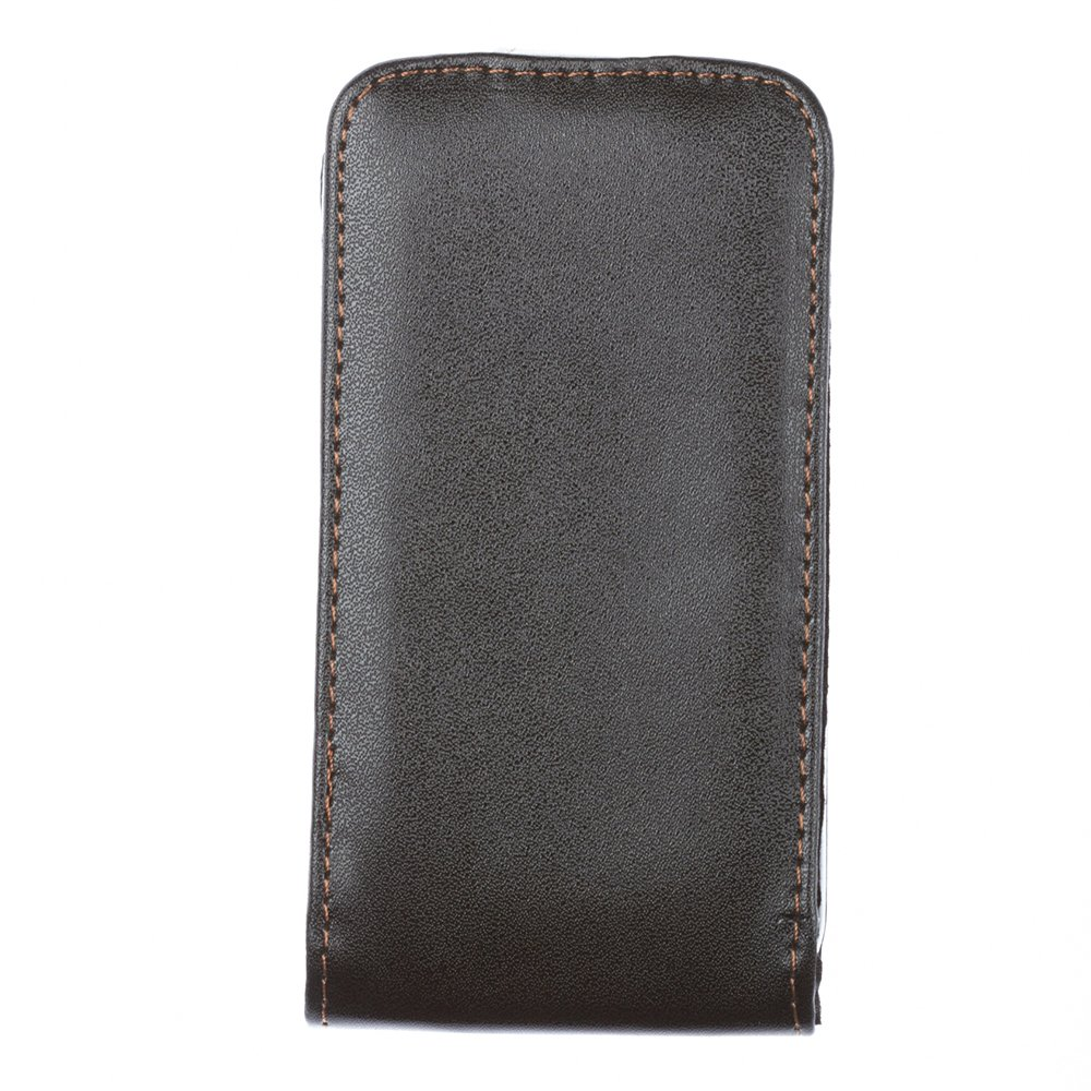 Чехол-флиппер для Samsung Galaxy Ace S5830 - Leather Pouch черный