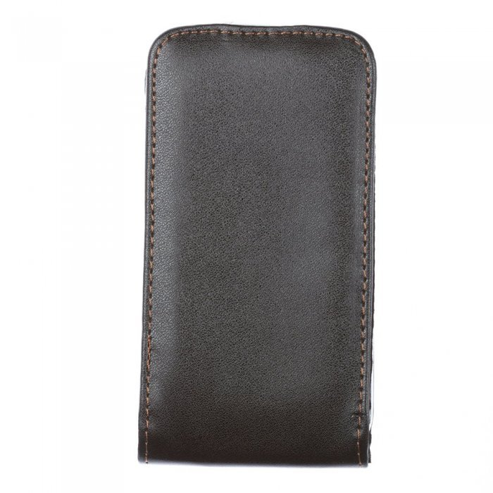 Чехол-флиппер для Samsung Galaxy Ace S5830 - Leather Pouch черный