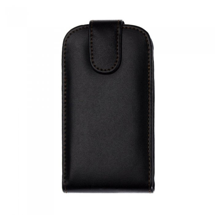 Чехол-флиппер для Samsung Galaxy SIII mini i8190 - Leather Pouch черный