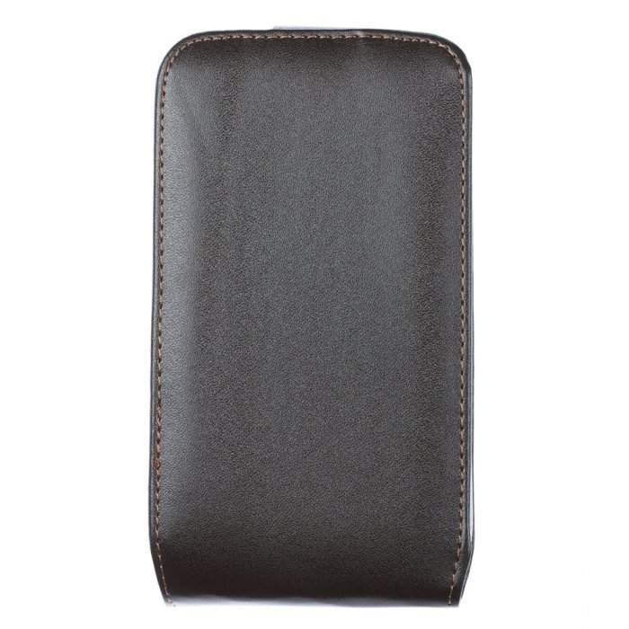 Чехол-флиппер для SamsungGalaxyGrand Duosi9082 - Leather Pouch черный