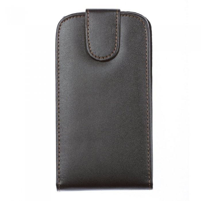 Чехол-флиппер для Samsung Galaxy S3 i9300 - Leather Pouch черный