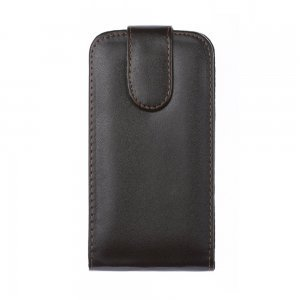 Чехол-флиппер для Samsung Galaxy S4 i9500 - Leather Pouch черный