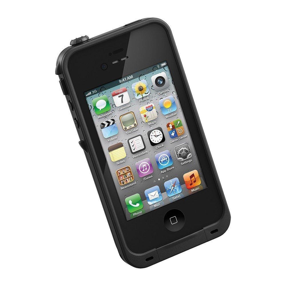 Чехол спорт и экстрим для Apple iPhone 5/5S - Let`s Go! LifeProof черный