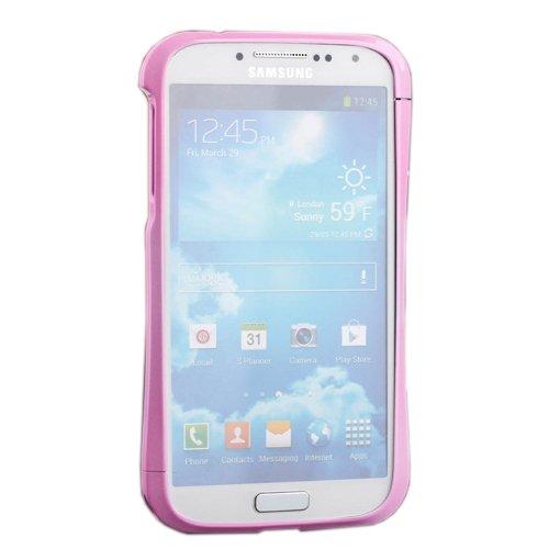 Чехол-бампер для Samsung Galaxy S4 - Love Mei A6061 розовый