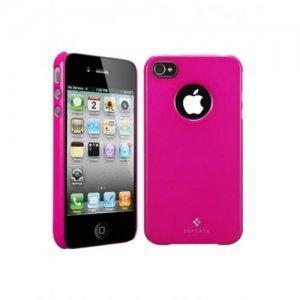Чехол-накладка для Apple iPhone 4/4S - SGP Ultra Thin Air Vivid Series розовый