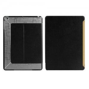 Чехол с орнаментом iBacks Flame черный + серый для iPad Air/iPad (2017)