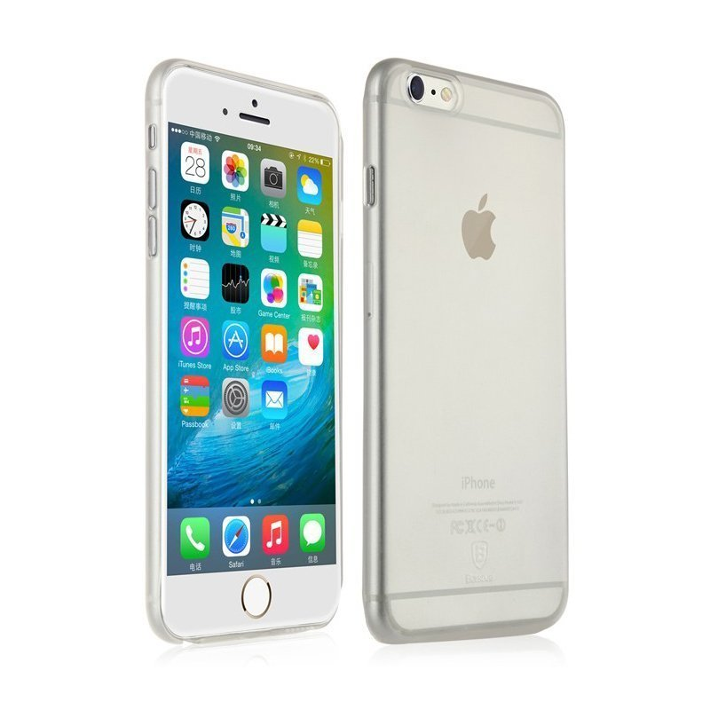 Чехол-накладка для Apple iPhone 6/6S - Baseus Chaumet прозрачный