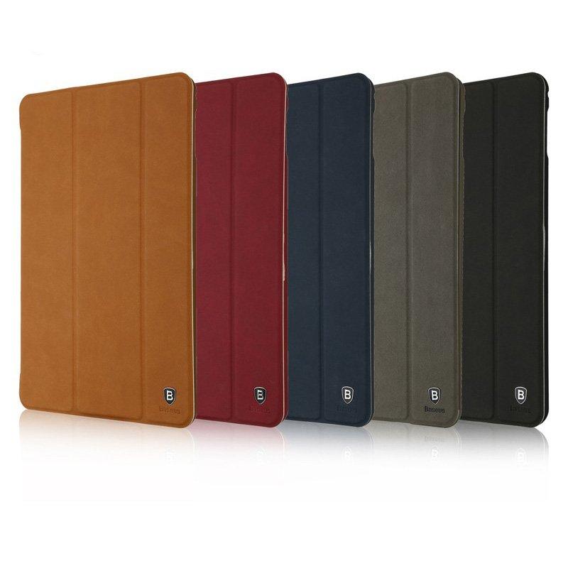 Чехол-книжка для Apple iPad Mini 4 - Baseus Simplism коричневый