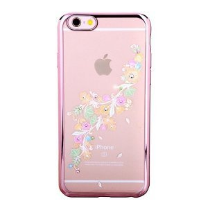 Чехол-накладка для Apple iPhone 6/6S - Kingxbar Bloom Series Delicateness