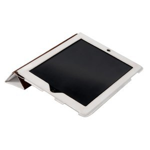 Чехол-книжка для Apple iPad 4/3/2 - Dublon Leatherworks Smart Perfect белый
