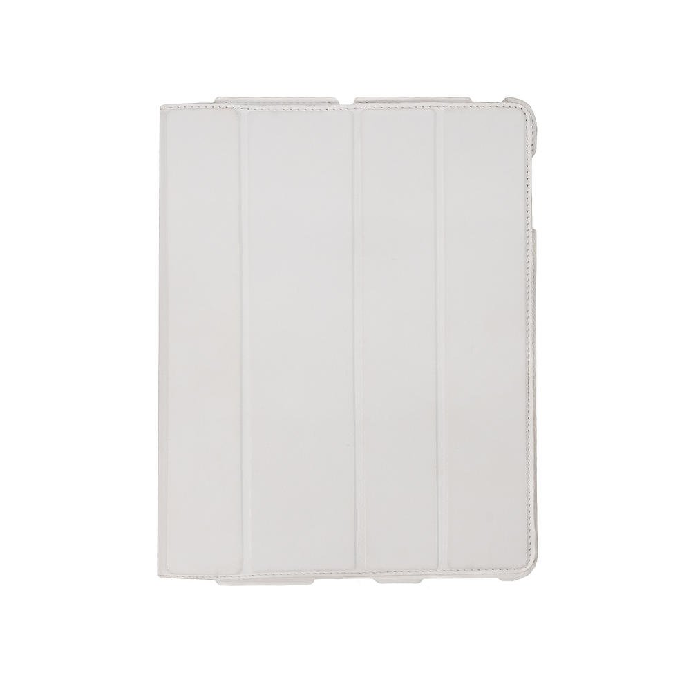 Чехол-книжка для Apple iPad 4/3/2 - Dublon Leatherworks Smart Perfect белый