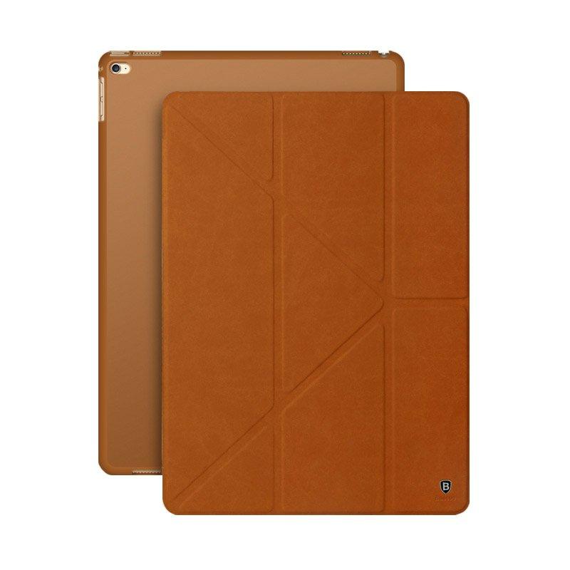 """Чехол-книжка для Apple iPad Pro 12,9"""" - Baseus Terse коричневый"""