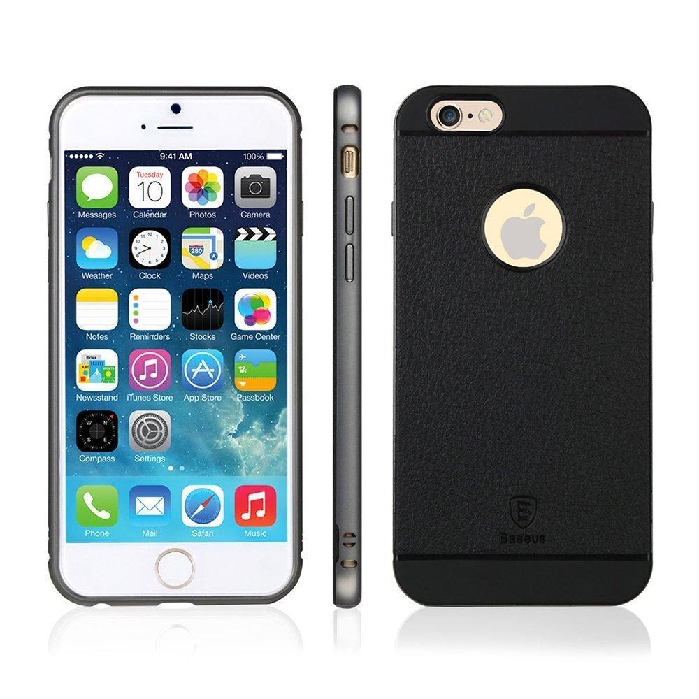 Чехол-накладка для Apple iPhone 6 - Baseus Fusion Pro черный